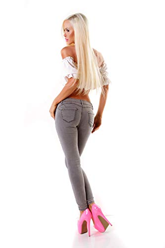 Fashion Jeans Jeans OSAB Femme OSAB Gris Fashion TTnq4pw5