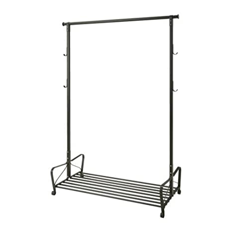Ikea Portis - Perchero, Negro - 119x60 cm: Amazon.es: Hogar