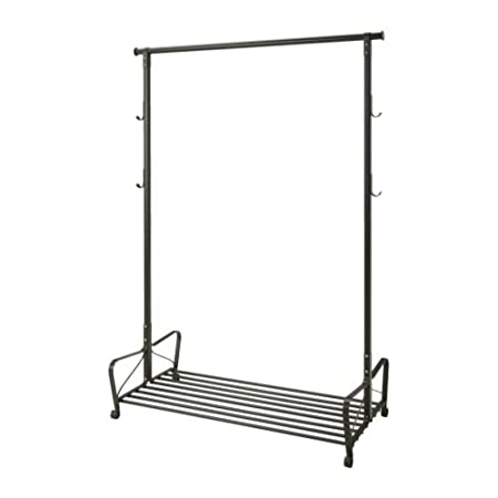 Ikea Portis - Perchero, Negro - 119x60 cm: Amazon.es: Hogar
