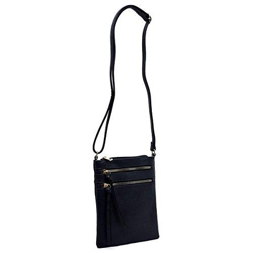 Pocket Multi Americana Navy Bag Functional Crossbody FffqnxER