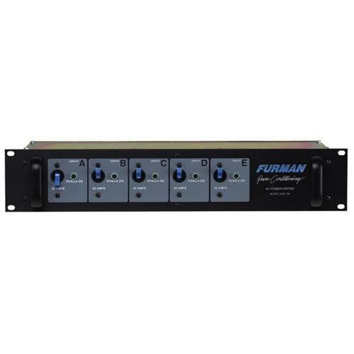 Furman ACD-100 Power Distribution 100 Amp, 120V, 240V or 208V input; Five 20 Amp, 120v Outputs by Furman