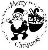 F/ür Geschenke und Karten zu Weihnachten hochwertiger Holzstempel 78x46 mm rund Frohe Weihnachten Rudolf Stemplino Orig Maxi Stempel XL 38 auch sch/ön als Geschenk
