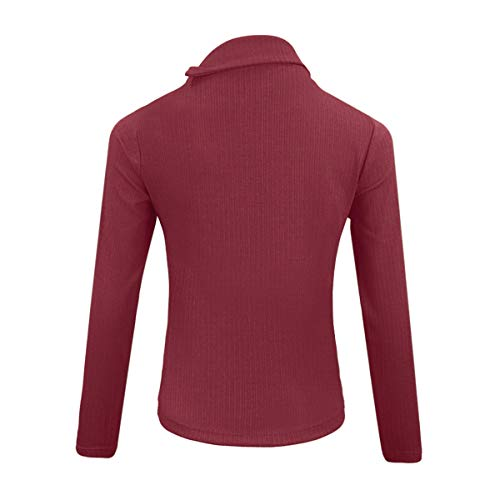 Chandail et Sweaters Printemps Longues Pulls Automne Blouse Jumpers Femmes Jumpers Manches Hauts Tops Slim Casual 4wxOFqag