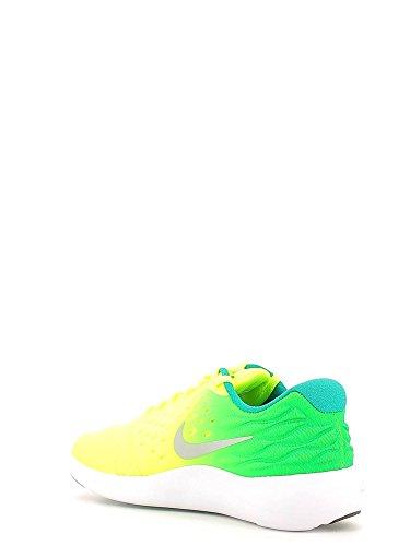 Nike Lunarstelos (Gs), Zapatillas de Running para Niños Amarillo (Amarillo (volt/metallic silver-rio teal-black))