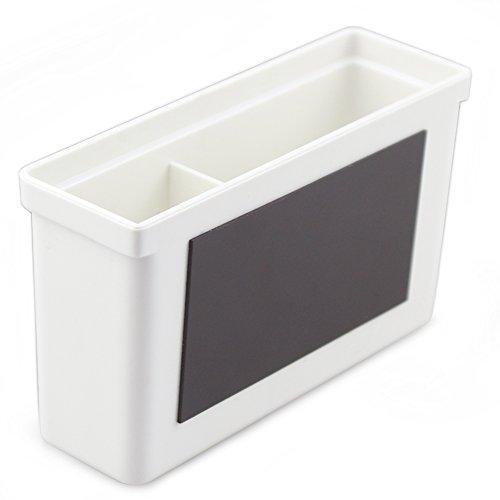 Magnetic Dry Erase Marker Holder WHITE Eraser Organizer
