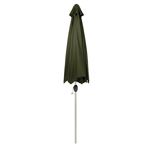 Classic Accessories Montlake FadeSafe 9-Foot Round Aluminum Patio Umbrella, Heather Fern by Classic Accessories (Image #4)