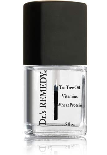 Dr.'s Remedy Enriched Nail Polish, Basic Basecoat, 0.5 Fluid Ounce (Best Rated Nail Polish Brands)