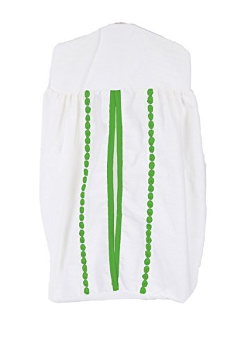 BbayDoll Unique Crib Diaper Stacker, Green Apple baby doll bedding 1230DS