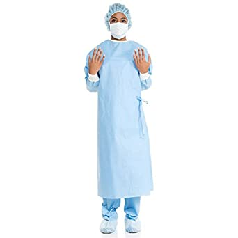 Driza salud quirúrgico fiesta, desechables, Ultra SMS y película, tamaño grande, Amarillo