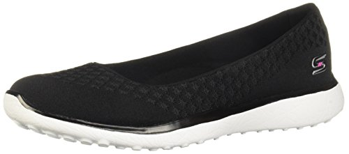 Skechers Active Microburst-One Up Women's Slip On 9 B(M) US Black-White 23312