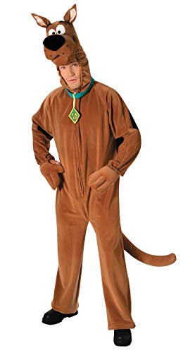 Scooby Doo Deluxe Plush - Adult Mens Scooby Doo Deluxe Plush Costume Size Large
