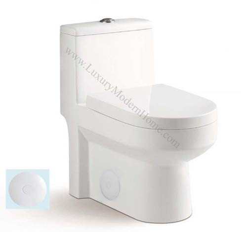 Best One Piece Toilet: GALBA Small Toilet
