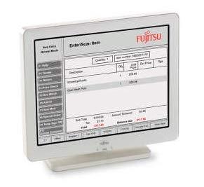 Fujitsu Displays D22 écran Plat de PC 30,7 cm (12.1') Blanc - Écrans Plats de PC (30,7 cm (12.1'), 800 x 600 Pixels, LCD, Blanc)