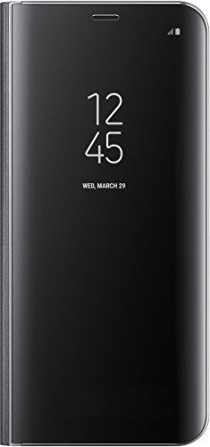 Genuine Samsung Clear View Standing Cover Flip Case for Samsung Galaxy S8+ / S8 Plus – Black (EF-ZG955CBEGWW)