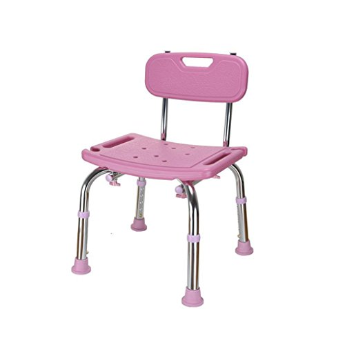 (NYDZDM Bathtub Shower Stool Shower Stool Disabled Elderly Bath Seat Maternity Bathroom Four-Foot Telescopic Shower Stool (Color : B))