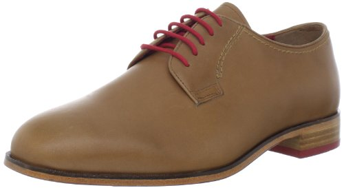 Flors Mens Markham Plain Oxford Kamel