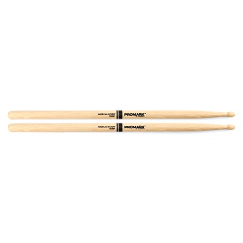 Promark TX2BW American Hickory Wood Tip, Single Pair (Promark American Hickory Rock)