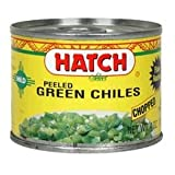 Hatch Chili Hot Diced Green Chili, 4 Ounce -- 24 per case.