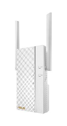 ASUS RP-AC66 - Repetidor inalámbrico AC1750 Dual-Band Gigabit (Modo Punto de Acceso, hasta 1750 Mbps, Porto RJ45 BaseT para LAN,...
