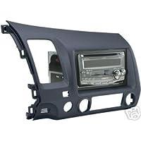 Stereo Install Dash Kit Honda Civic SI 07 2007 BLUE COLOR DBL DIN (car radio wiring installation parts)