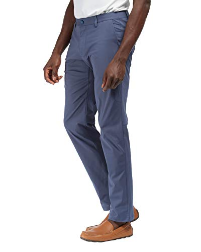 Rhone Commuter Pant Gibraltar Sea 38 | Men's Pants Made from a Luxurious Japanese Stretch Fabric and with Moisture Wicking Features -