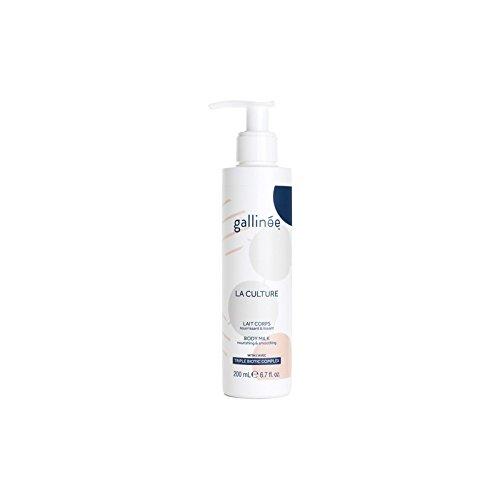 ラ文化ボディミルク200ミリリットルを x2 - Galline La Culture Body Milk 200ml (Pack of 2) [並行輸入品] B072BC14ND