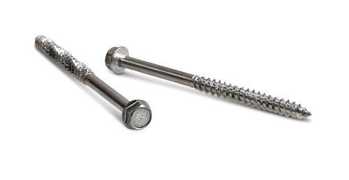 0.276 x 12 Simpson Strong-Drive SDWH Timber-Hex Screw 316 Stainless Steel - Pack (5)