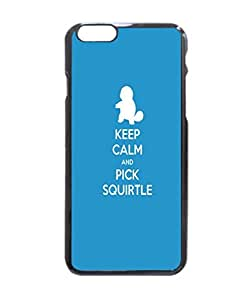 Keep Calm Blue Pokemon Squirtle Durable Unique Design Hard Back Case Cover For iPhone 6 - 4.7