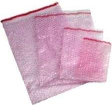 """ei-Packaging 50 Anti-statische Luftpolsterfolie Taschen 100mm x 135mm (ASBP1) 4"""" x 5"""""""
