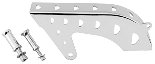 - 04-19 HARLEY XL1200C: Biker's Choice Outlaw Sprocket Cover Kit (CHROME)