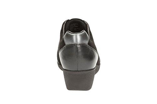 Clarks Petula noir Taille Baskets noir Britney Femme noir qqwF7Erzv