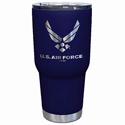 7.62 Design USAF Laser Etched 32oz Travel Mug - Officially Licensed