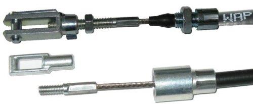 900 mm GL 1130 mm FKAnh/ängerteile 1 x Bremsseil WAP mit Edelstahllitze HL