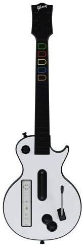 Guitar Hero: World Tour Wii Les Paul Wireless Guitar Controller ...