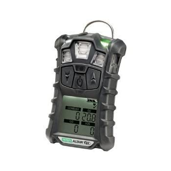 MSA Multi-Gas Detector, 4 Gas, -4 to 122F, LCD