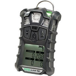 MSA Multi-Gas Detector, 4 Gas, -4 to 122F, ()
