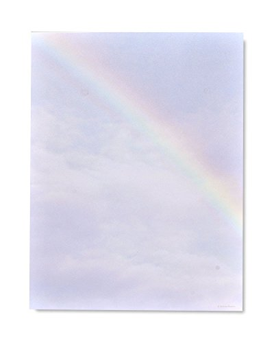 Photographic Rainbow Stationery ()
