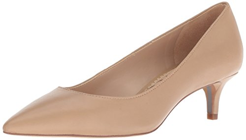 5 Women's M Pump Dori Edelman Leather Nude Sam US Classic aCTq0wxW5