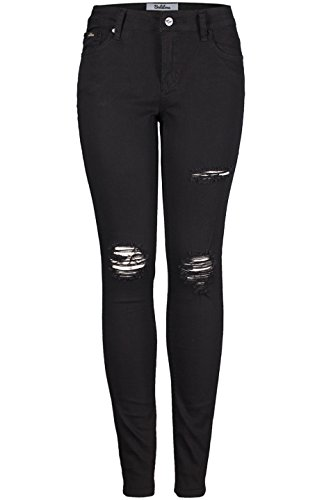 a1e9b6552b3 We Analyzed 4,269 Reviews To Find THE BEST Ripped Black Skinny Jeans