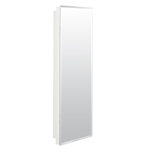 American Pride 9836WB1AR - Recessed Beveled Polished Edge Mirror Medicine Cabinet 12