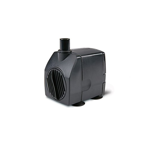 200 GPH Submersible Fountain Pump with Auto Shutoff for Ponds and Aquariums