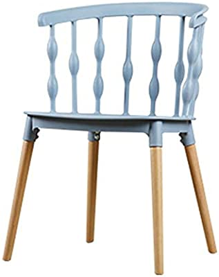 Carl Artbay Home Nordic Style Chair Creative Non Slip Design Style Living Room Cafe Lounge Chair Front Seat Computer Office Work Chair Durable And Easy To Clean Color Blue Buy Online At Best