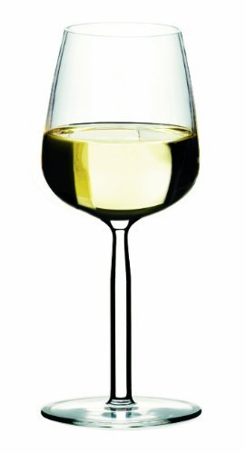 Iittala Senta Clear 10-Ounce White Wine Glass, Set of 2 by Iittala -