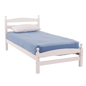 Worldstores Moderna Wooden Bed Frame 3ft Single Bed Base