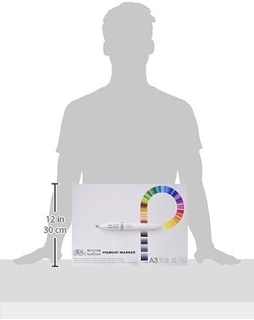 Winsor /& Newton Marcador de pigmento Papel Pad-A4 o A3