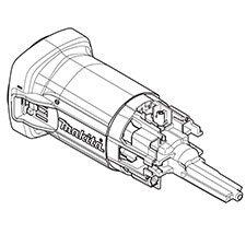 Makita 453366-1 Motor Housing Replacement Part