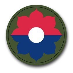 US Army 9th Infantry Division Patch Decal Sticker 3.8