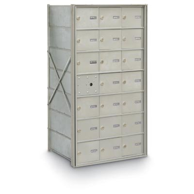 Front Cluster (postalproducts N1029432 20 Door Front Load 4B+ Horizontal Mailbox, 39