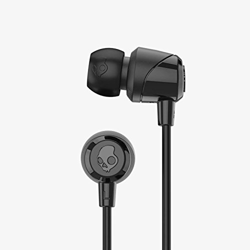 Skullcandy Jib Bluetooth Wireless In-Ear Earbuds with Microphone for Hands-Free Calls, 6-Hour Rechargeable Battery, Included Ear Gels for Noise Isolation, Black/Street by Skullcandy (Image #2)