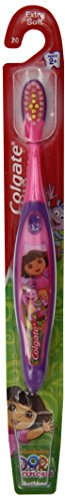 Colgate Toothbrush, Dora The Explorer, Extra Soft 1 Each